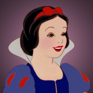 Disney Rose Red Snow White