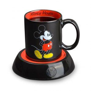 Disney Mickey Mouse Mug Warmer, Black and Red