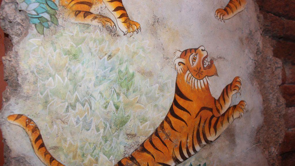 disney animal kingdom tiffins artwork