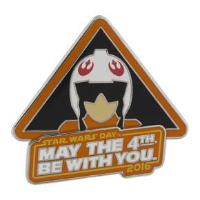 May the 4th Star Wars Day Disney Pin 2016 Luke