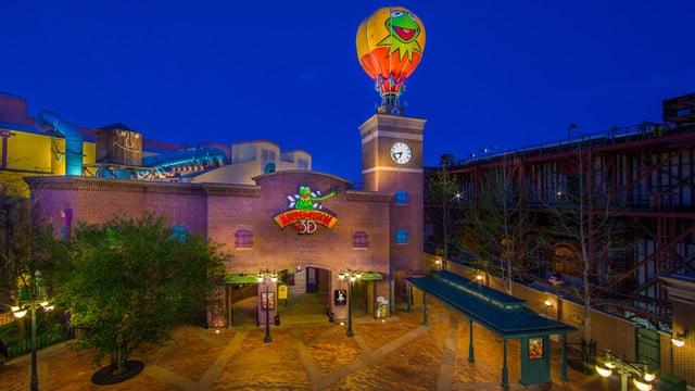 muppet vision 3d disney hollywood studios
