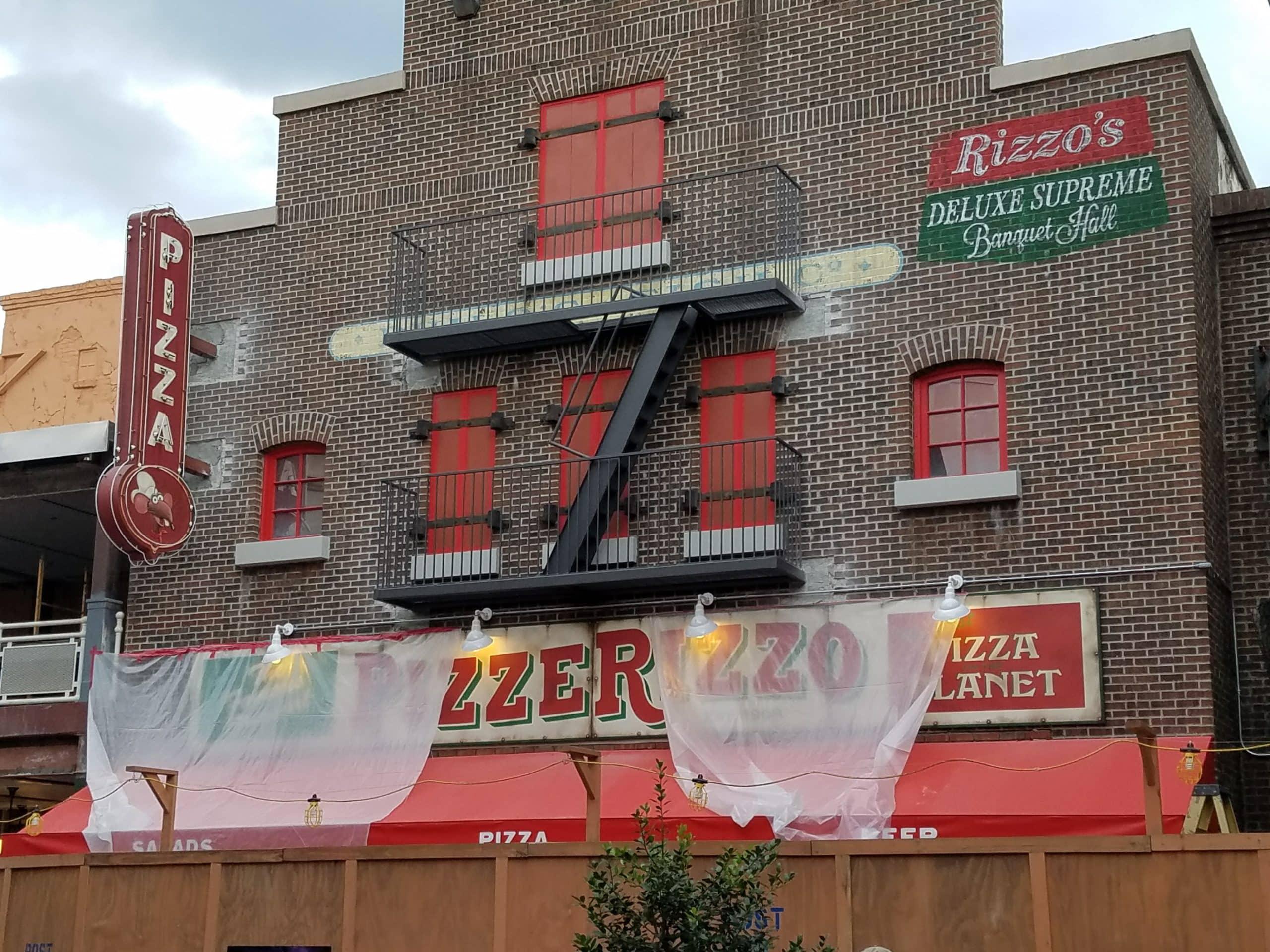 PizzeRizzo disney hollywood studios