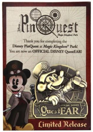 Disney pinquest questear pin