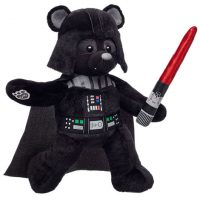 Darth Vader™ Build-a-Bear with Red Lightsaber