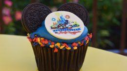 Disney Magic Kingdom 45th Anniversary Cupcake