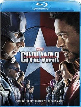 captain america civil war dvd blu-ray