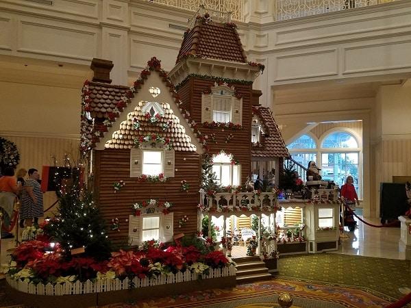 Grand Floridian Christmas Gingerbread House Disney World