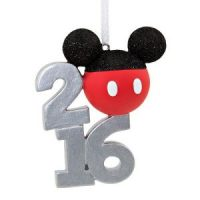 disney christmas ornament Mickey Mouse Ears Christmas Ornament 2016