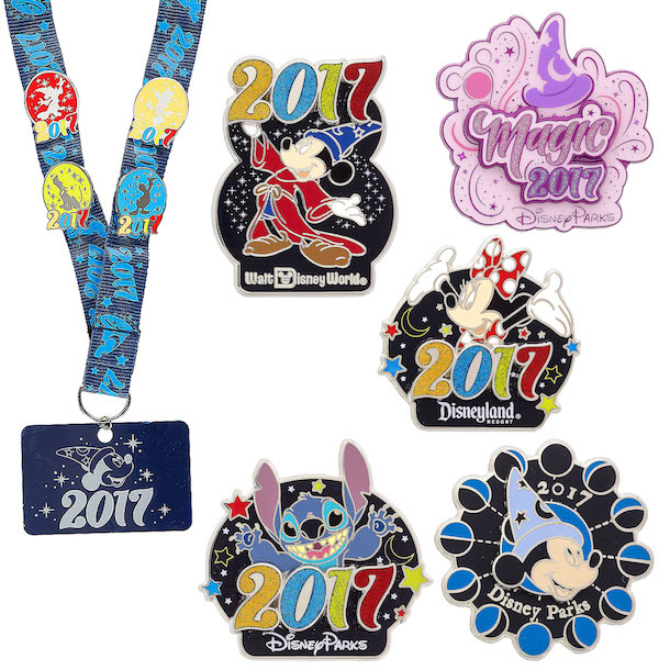 2017 disney pin collection