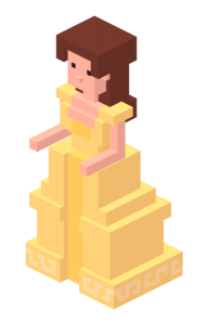beauty and the beast disney crossy road