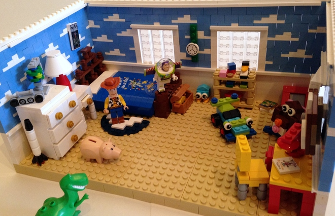 A Lego Toy Story Set Of Andy S Room You Can Make It Happen