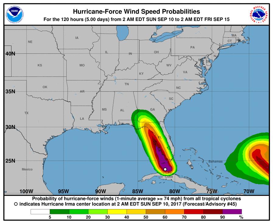 hurricane irma disney world