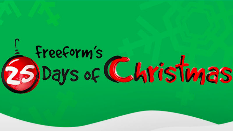 Freeform Countdown to 25 Days of Christmas