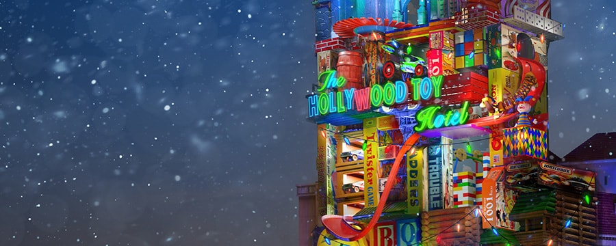 Hollywood Toy Hotel disney close up