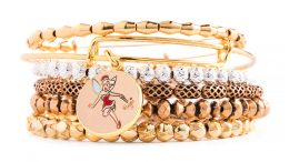 Holiday Tinker Bell Bangle alex and ani