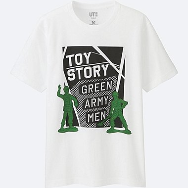 Toy Story Green Army Men Graphic T-Shirt