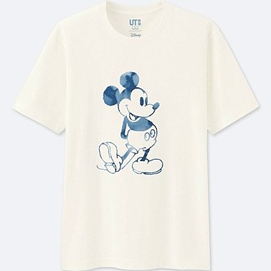 Mickey Blue Short Sleeve Graphic T-Shirt