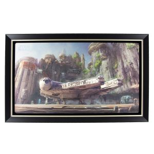 Star Wars Galaxy's Edge Millennium Falcon Print