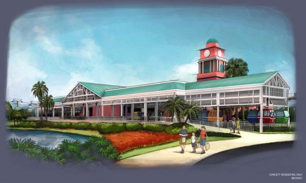 Disney Skyliner Concept Art 2