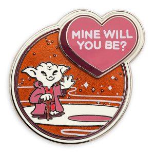 Yoda Valentines Pin - Star Wars