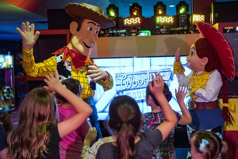 Pixar Play Zone at Disney World's Contemporary Resort