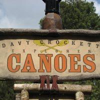 Davy Crockett Explorer Canoes | Extinct Disney World Attractions