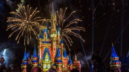 Happily Ever After Fireworks Show