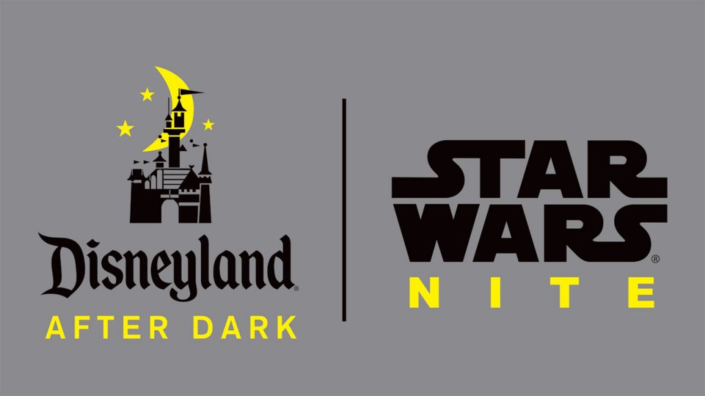 disneyland star wars nite
