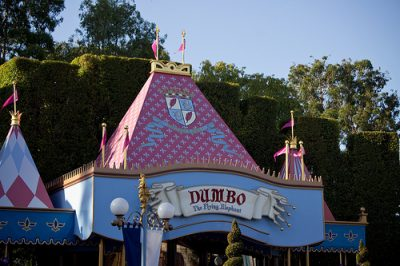 Dumbo the Flying Elephant (Disneyland)