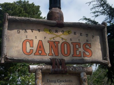 Davy Crockett's Explorer Canoes (Disneyland)