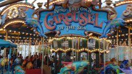 King Tritons Carousel disneyland