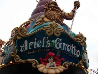 Ariel's Grotto – Extinct Disneyland Attractions
