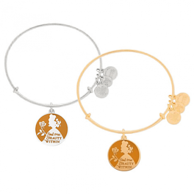 Belle Bangle by Alex and Ani (orange) | Disney Jewelry