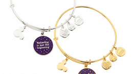 Tinker Bell ''Believing is just the beginning'' Bangle by Alex and Ani   Disney Jewelry