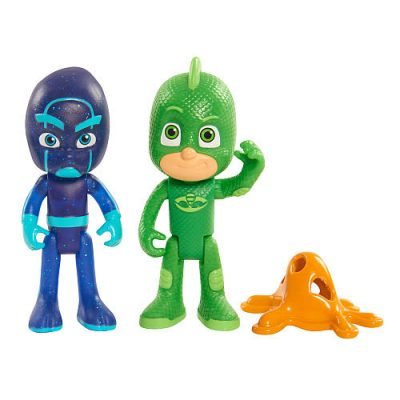 PJ Masks Duet Figure Set – Gekko and Night Ninja