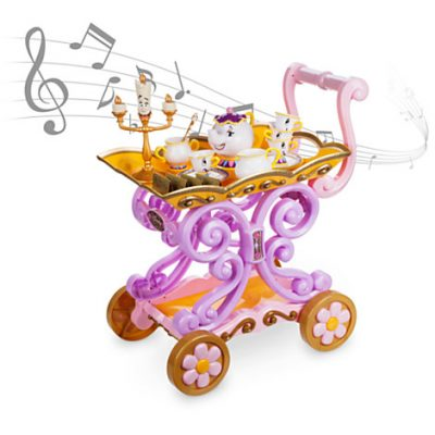 Beauty and the Beast Singing Tea Cart Play Set