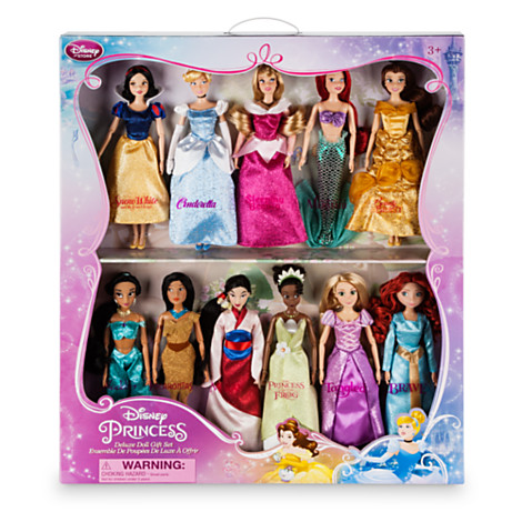 Disney Princess Classic Doll Collection Gift Set A Complete