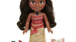 Disney Singing Moana, Pua, Heihei Toy Doll Set
