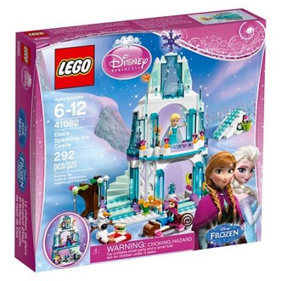 Disney LEGO Frozen Princess Elsa's Sparkling Ice Castle 41062