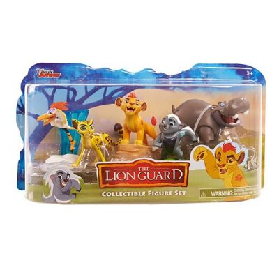 Disney's The Lion Guard Action Figure Set