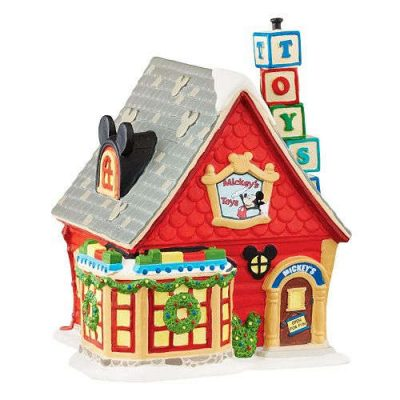 "Disney's Mickey Mouse ""Mickey's Toys"" Toy Store Christmas Decoration"