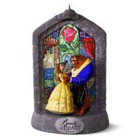 Disney's Beauty and the Beast 25th Anniversary 2016 Christmas Ornament