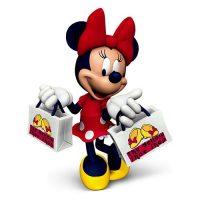 Sassy Minnie Mouse Christmas Ornament 2016