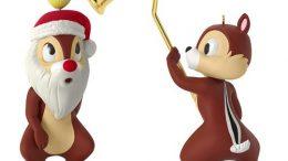 Disney's Chip & Dale Christmas Ornament 2016