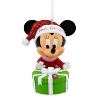 Disney's Minnie Mouse Baby's First Christmas Ornament 2016