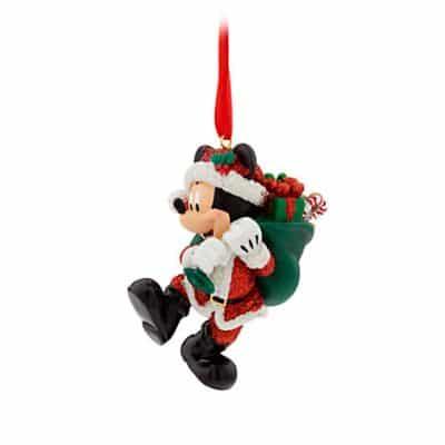 Santa Mickey Mouse Christmas Ornament