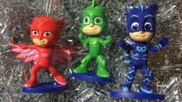 PJ Masks Christmas Ornaments (Gekko, Catboy and Owlette)
