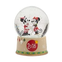 Mickey and Minnie Mouse Snowglobe - Christmas 2016
