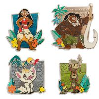 Moana Disney Pin Set