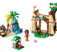 Moana's Island Adventure LEGO Set
